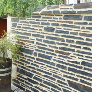 Naturstein Putz Decopierre Außenfassade